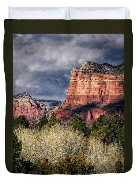 Clouds Over Sedona Duvet Cover