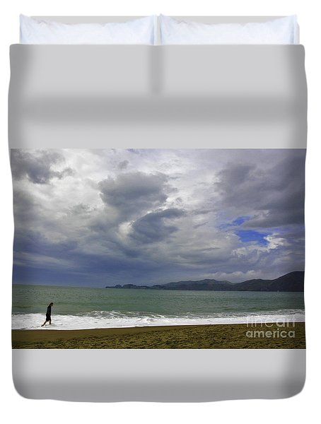 Cloudy Day Duvet Cover