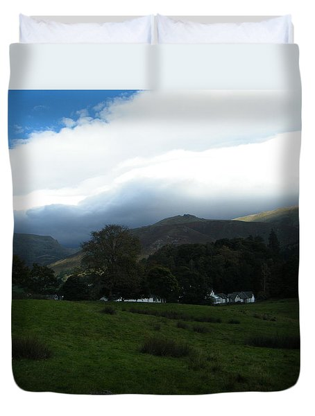 Cloudy Hills Duvet Cover