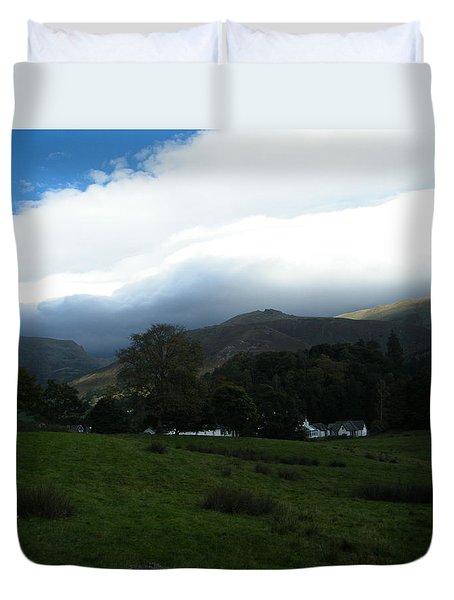 Cloudy Hills Duvet Cover