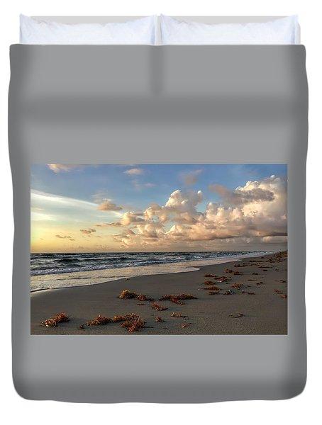Cloudy Horizon  Duvet Cover