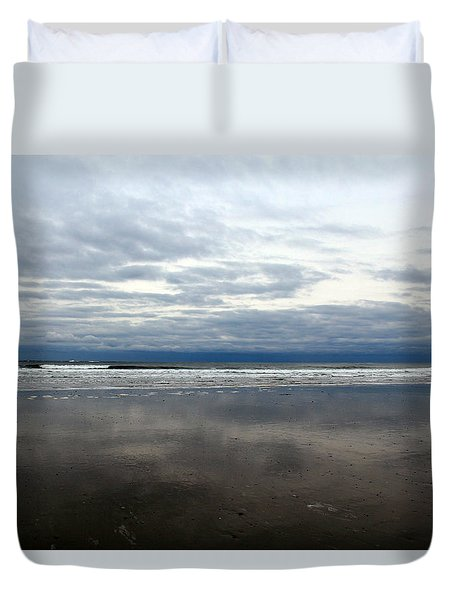 Cloudy Reflections Duvet Cover