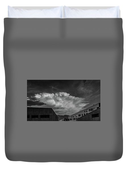 Cloudy Sky Over Bolzano Duvet Cover