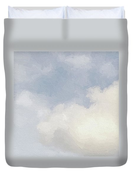 Cloudy Skies Duvet Cover