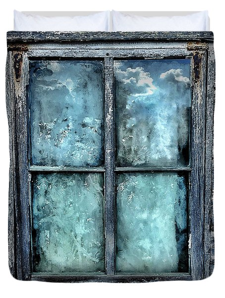 Cloudy Window Duvet Cover