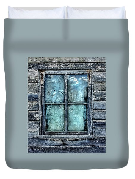 Cloudy Window Duvet Cover