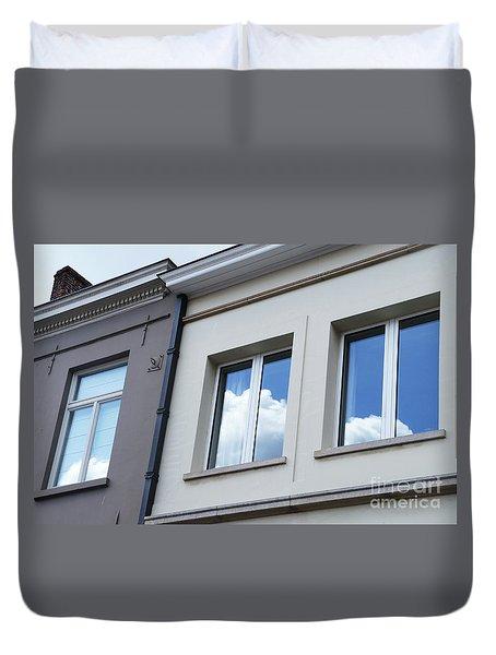 Cloudy Windows Duvet Cover