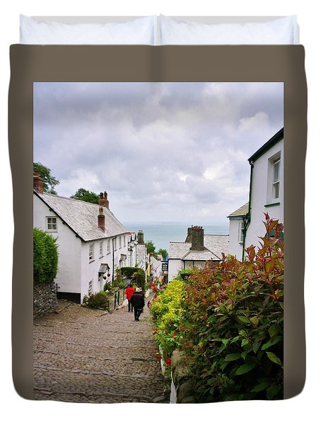 Clovelly High Street Duvet Cover