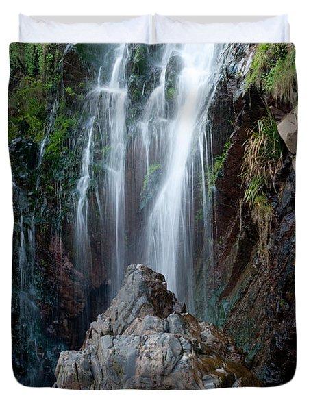 Clovelly Waterfall Duvet Cover