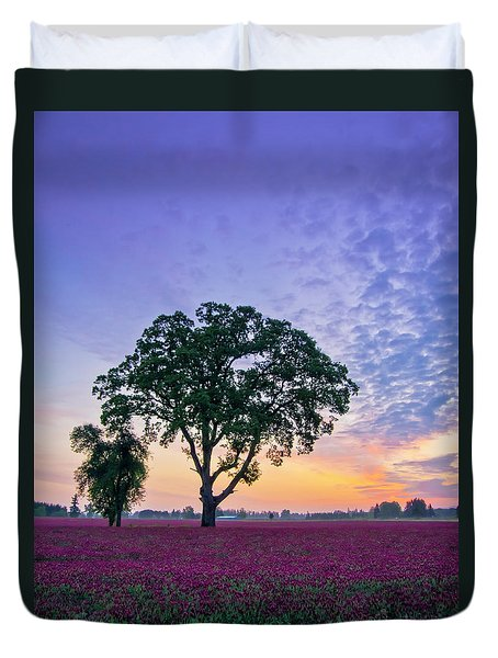Clover Sunrise Duvet Cover