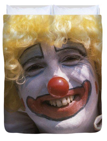Clown-1 Duvet Cover
