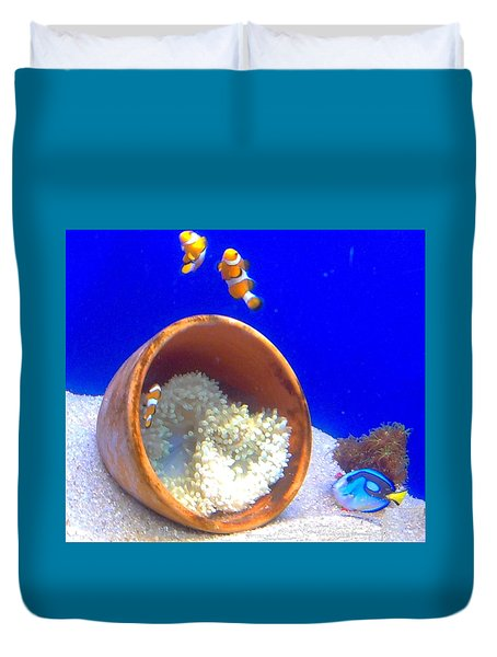 Clown Fish Duvet Cover