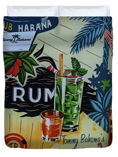 Club Habana Duvet Cover