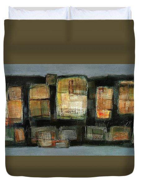 Club Duvet Cover by Behzad Sohrabi