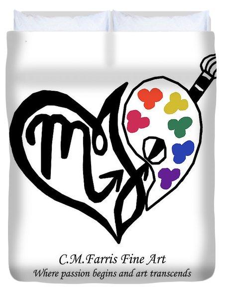 Cmfarris Logo Brand Duvet Cover