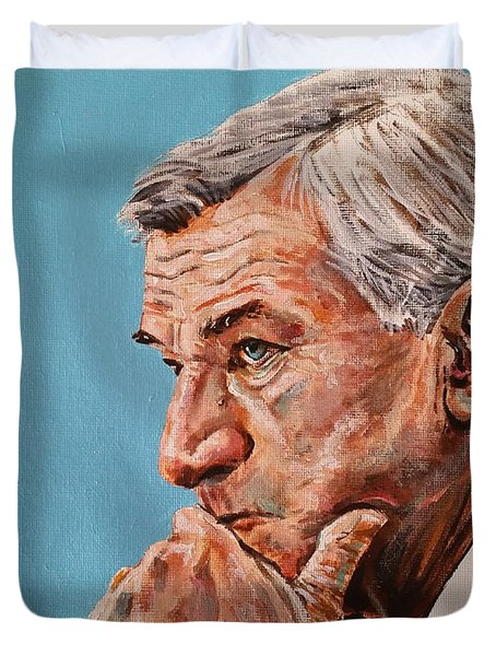 Coach Dean Smith Duvet Cover