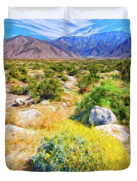 Coachella Spring Duvet Cover