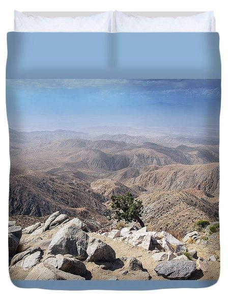 Coachella Valley Duvet Cover