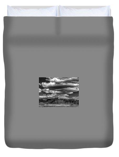 Coal Canyon Duvet Cover