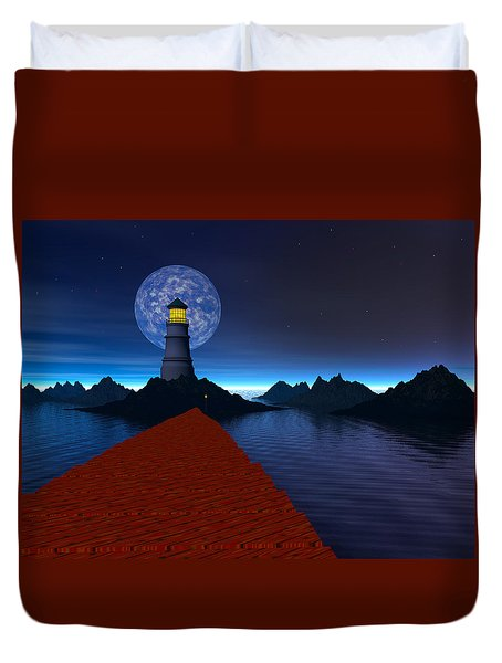 Coast Duvet Cover by Mark Blauhoefer