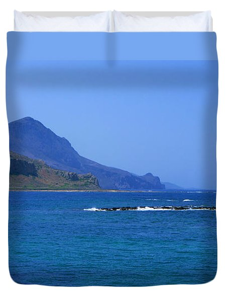 Coast Of Gramvousa Duvet Cover