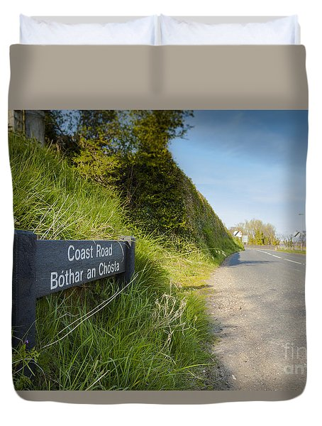 Coast Road Duvet Cover