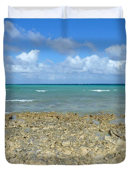 Coast Sea And Sky Duvet Cover