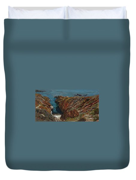 Coastal Afternoon Duvet Cover
