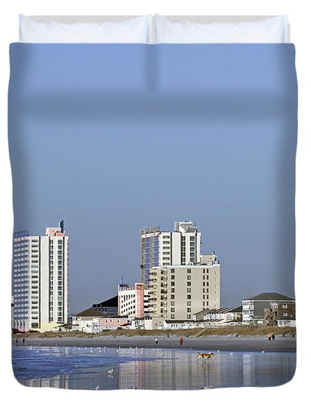 Coastal Architecture Duvet Cover