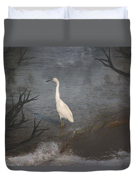 Coastal Birds Duvet Cover