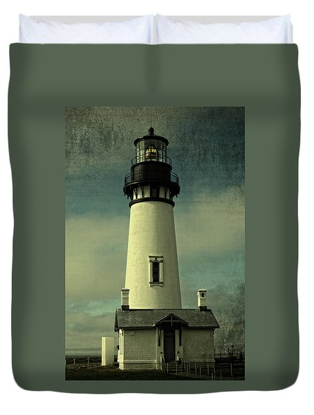 Coastal Breeze At Yaquina Head Duvet Cover
