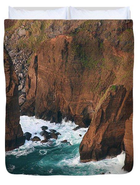 Coastal Detail Duvet Cover by Gaspar Avila