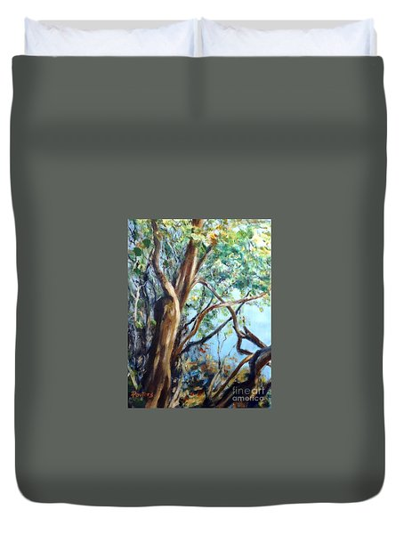 Coastal Forest Duvet Cover