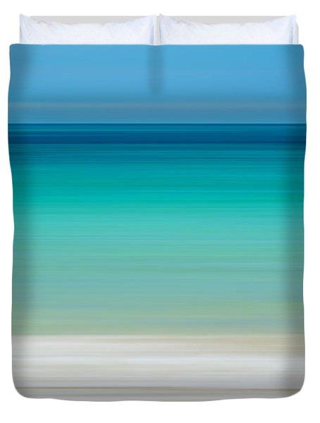 Coastal Horizon 11 Duvet Cover