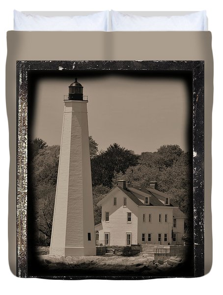 Coastal Lighthouse 2 Duvet Cover