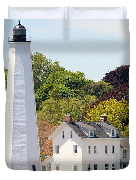 Coastal Lighthouse-c Duvet Cover