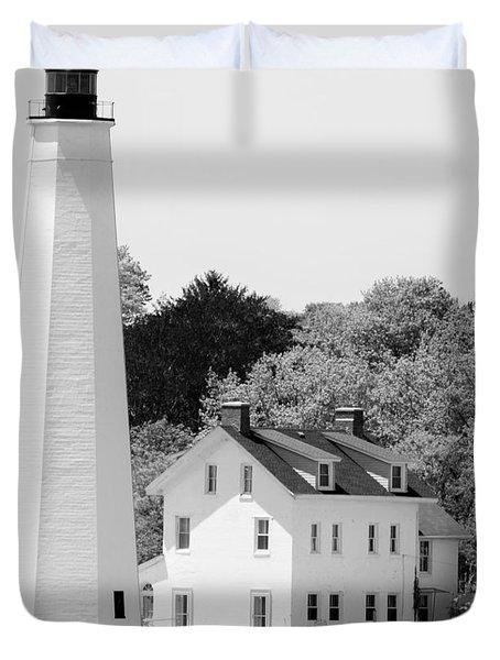 Coastal Lighthouse Duvet Cover