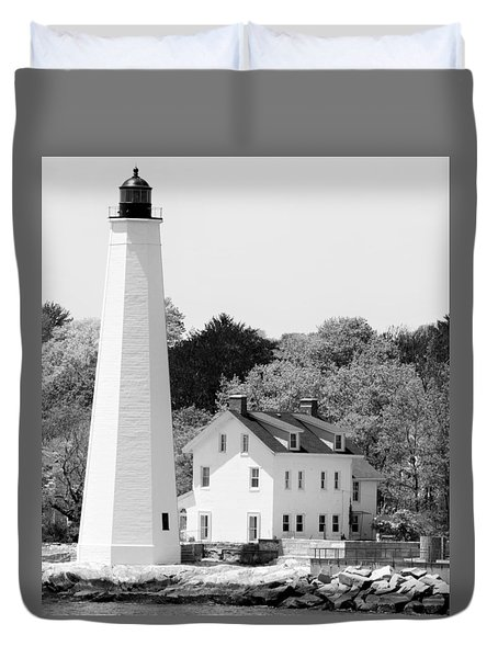 Coastal Lighthouse Duvet Cover
