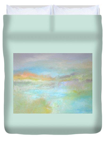 Coastal Mist Duvet Cover by Filomena Booth