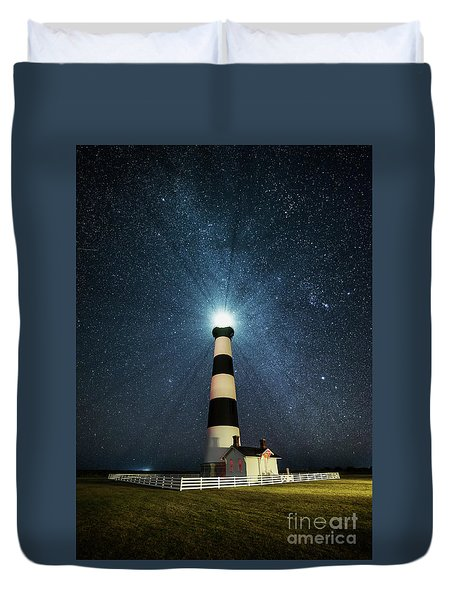 Coastal Nights Duvet Cover