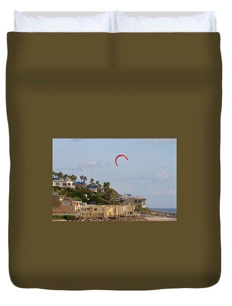 Coastal Pleasures Duvet Cover