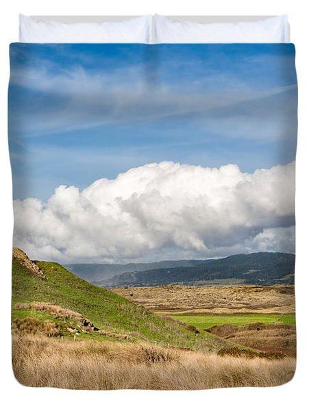 Coastal Prairie Duvet Cover