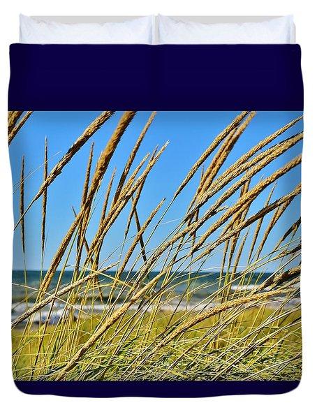 Coastal Relaxation Duvet Cover