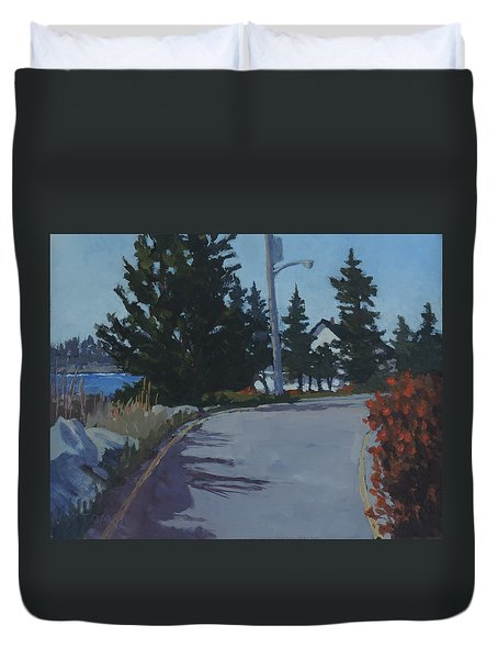 Coastal Road Duvet Cover