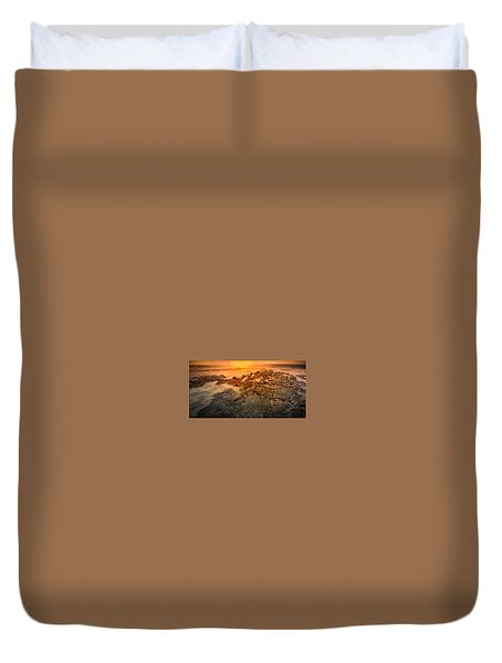 Coastal Rocks Duvet Cover