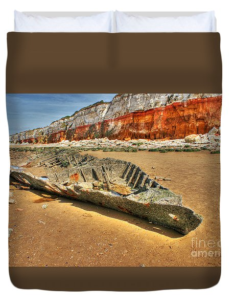 Coastal Skeleton Duvet Cover