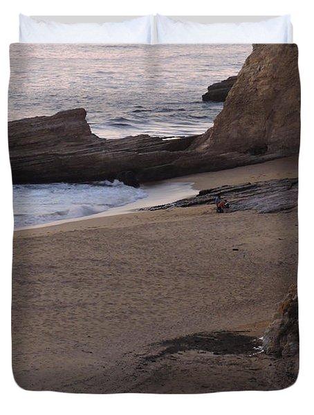 Coastal Tide Pool Duvet Cover