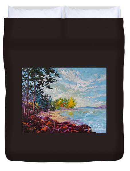 Coastal View Duvet Cover