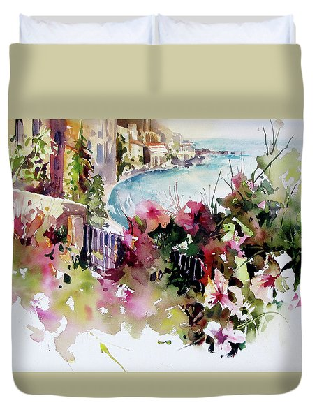 Coastal Vista Duvet Cover