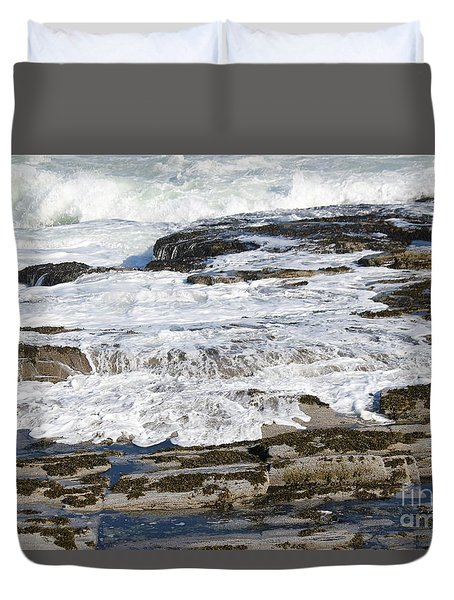 Coastal Washout Duvet Cover